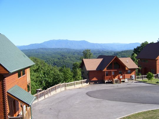Vacation rental cabin in pigeon forge tn in great smokey for Mountain view cabins pigeon forge tn
